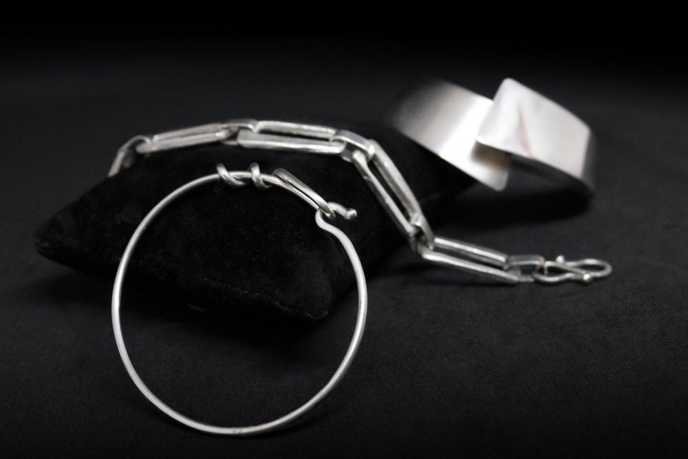 Bracciali moderni in argento
