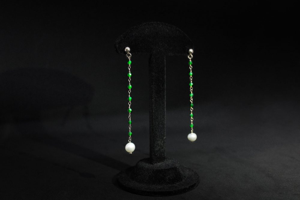 Orecchini pendenti a rosario